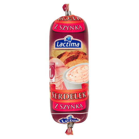 Lactima with Ham Serdelek Spread Grocery Product 90 g