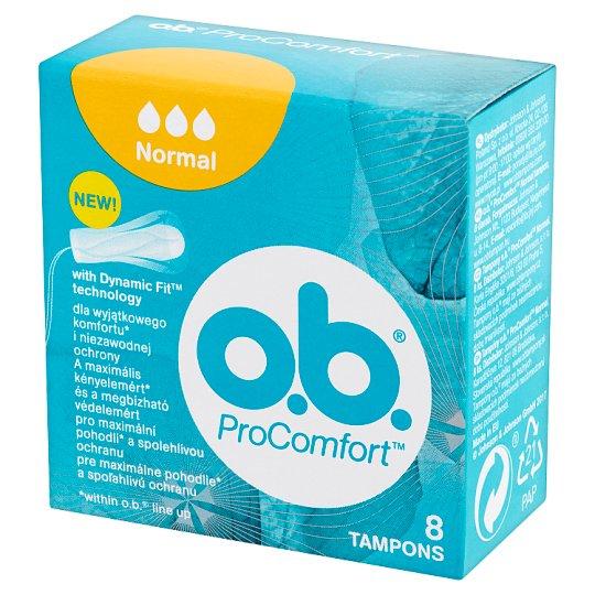 O.B. ProComfort Normal Tampons 8 Pieces