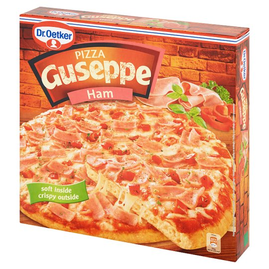 Dr. Oetker Guseppe Pizza with Ham 410 g