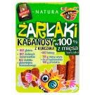 Konspol Natura Żarłaki Chicken Smoked Thin Sausages 100 g