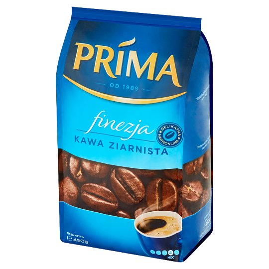Prima Finezja Coffee Beans 450 g