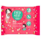 Fred & Flo Toilet Wipes 60 Pieces