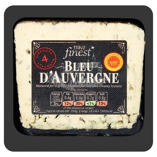 Tesco Finest Bleu D'Auvergne Hard Fatty Cheese 150 g