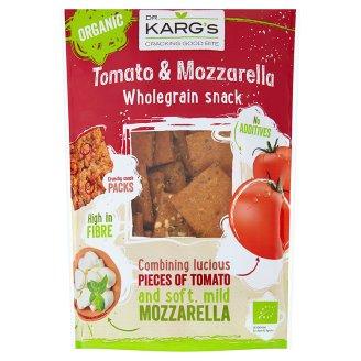 Dr. Karg's Ekologiczne pieczywo chrupkie z serem mozzarella oraz suszonymi pomidorami 110 g
