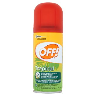 OFF! Tropical Repellent in Dry Spray 100 ml