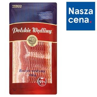 Tesco Polskie Wędliny Smoked Bacon 140 g