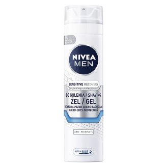 NIVEA MEN Sensitive Regenerujący żel do golenia 200 ml
