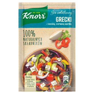 Knorr Sos sałatkowy grecki z suszoną czerwoną papryką 7,9 g