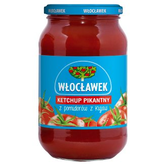 Włocławek Hot Ketchup 970 g
