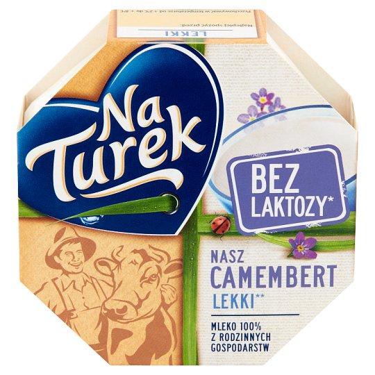 NaTurek Nasz Camembert Light Cheese 120 g