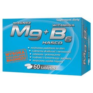 Mg Magnez + Witamina B6 Suplement diety 60 tabletek