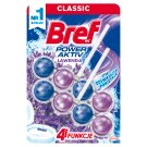 Bref WC Power Aktiv Lavender Toilet Rim Block 2 x 50 g