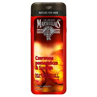 Le Petit Marseillais Red Orange & Saffron 3 in 1 Shower Gel 400 ml