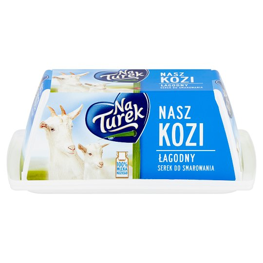 NaTurek Nasz Kozi Mild Spreads Cheese 150 g