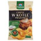 Przysnacki Chipsy w kotle prażone o smaku kwaśna śmietana 125 g