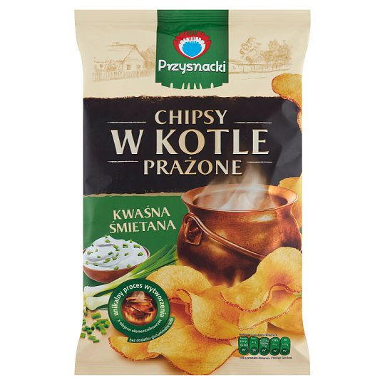 Przysnacki Chips Roasted in Boil with Sour Cream Flavour 125 g