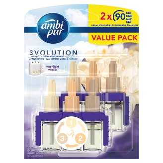 Ambi Pur 3Volution Air Freshener Plug-In Refill Moonlight Vanilla 40ML