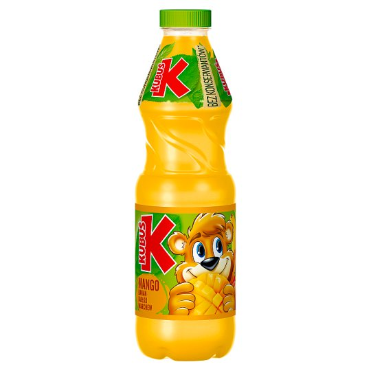 Kubuś Mango Banana Apple Carrot Juice 900 ml