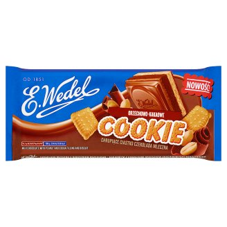 E. Wedel Cookie Milk Chocolate with Peanut and Cocoa Filling and Biscuit 290 g
