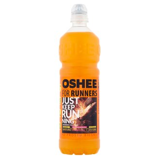 Oshee for Runners Orange Flavour Isotonic Drink 0.75 L