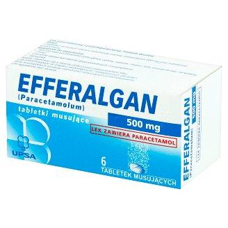 Efferalgan Painkiller Analgesic and Antipyretic Medicine 6 Pieces