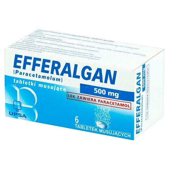 Efferalgan Lek przeciwbólowy i przeciwgorączkowy 6 sztuk