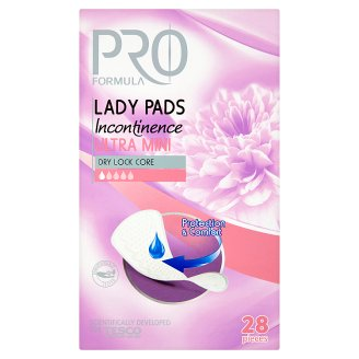 Tesco Pro Formula Ultra Mini Lady Incontinence Pads 28 Pieces