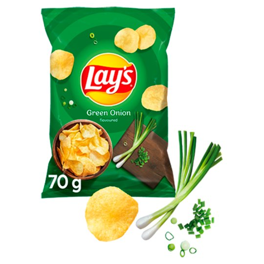 Lay's Spring Onion Flavoured Potato Crisps 70 g