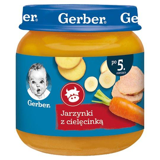Gerber Jarzynki z cielęcinką po 5 miesiącu 125 g