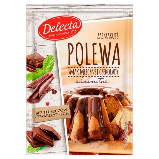 Delecta Milk Chocolate Flavour Glaze 100 g