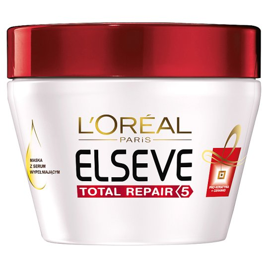 L'Oreal Paris Elseve Total Repair 5 Hair Mask with Filling Serum 300 ml