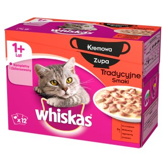 Whiskas Complete Food for Adult Cats 1020 g (12 Sachets)