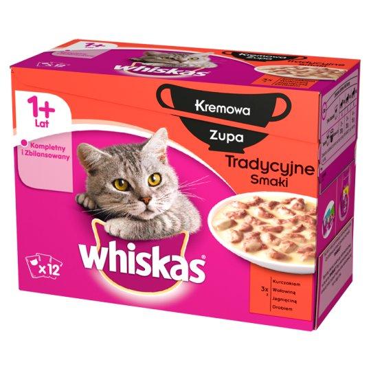 Whiskas Karma pełnoporcjowa dla dorosłych kotów 1020 g (12 saszetek)