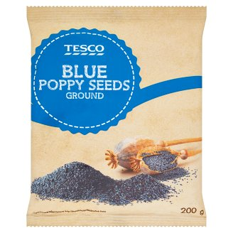 Tesco Ground Blue Poppy Seeds 200 g