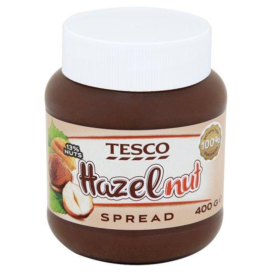 Tesco Krem do smarowania z orzechami laskowymi i kakao 400 g