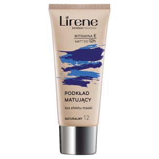 Lirene Nature Matte Matting Fluid 12 Natural 30 ml