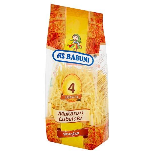 As-Babuni Ribbon 4 Egg Lubelski Pasta 250 g