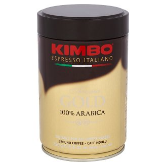 Kimbo Aroma Gold 100% Arabica Ground Coffee 250 g