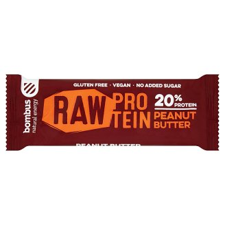 Bombus Raw Protein Peanut Butter Fruit Bar 50 g