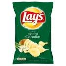Lay's o smaku Zielona Cebulka Chipsy ziemniaczane 150 g