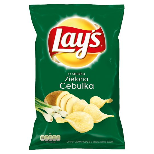 Lay's Spring Onion Flavoured Potato Crisps 150 g