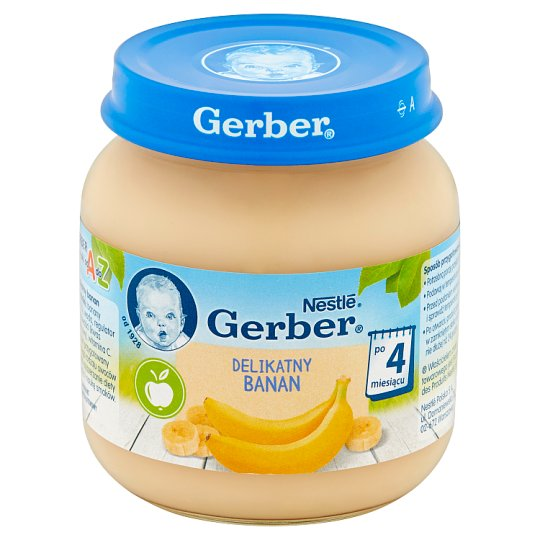 Gerber Delicate Banana after 4 Months Onwards 125 g