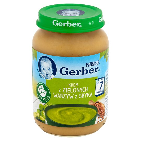Gerber Green Vegetables Cream with Buckwheat after 7 Months Onwards 190 g