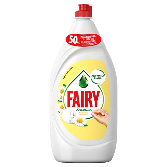 Fairy Sensitive Washing Up Liquid Chamomile & Vitamin E 1.35L