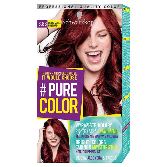 Schwarzkopf #Pure Color Hair Colorant Raspberry Red 6.88