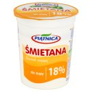 Piątnica 18% Fat Soup Soured Cream 400 g