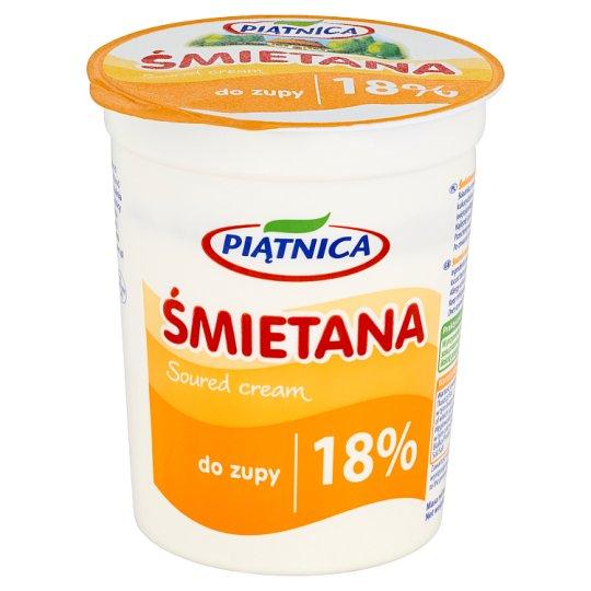 Piątnica 18% Fat Soup Soured Cream 400 g