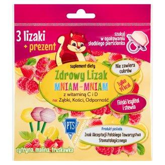 Starpharma Zdrowy Lizak Mniam-Mniam Suplement diety 3 sztuki