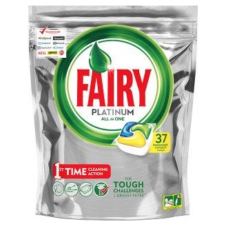 Fairy Platinum All In One Lemon Kapsułki do zmywarki 37 sztuk