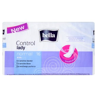 Bella Control Lady Normal Urological Pads 16 Pieces